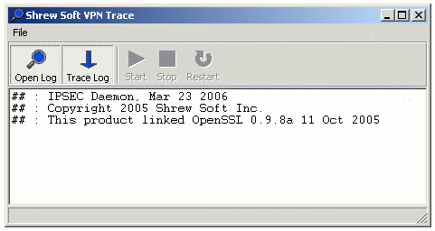 shrew soft vpn trace