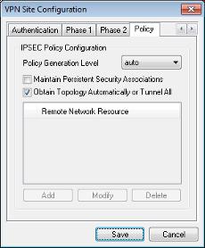 Shrew Soft VPN Client Administrators Guide